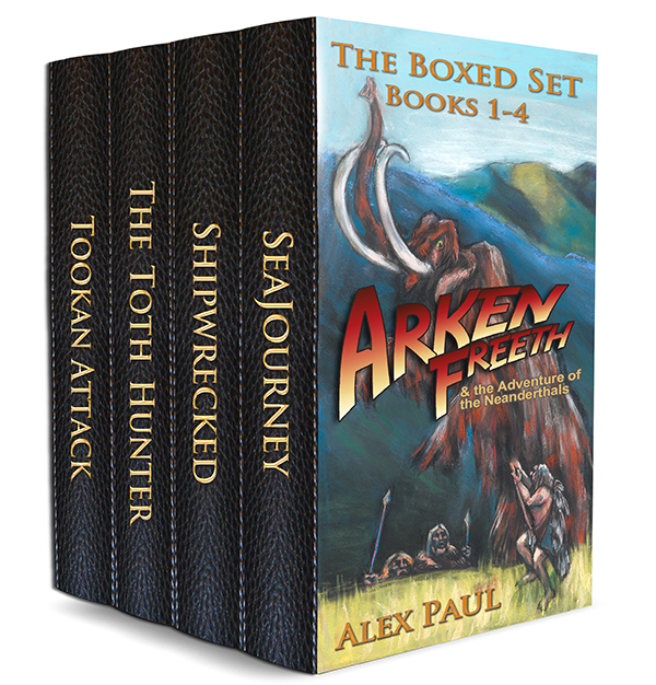 Arken Freeth Boxed Set: Books 1-4